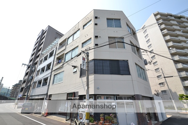 広島県広島市西区、横川駅徒歩2分の築36年 5階建の賃貸マンション