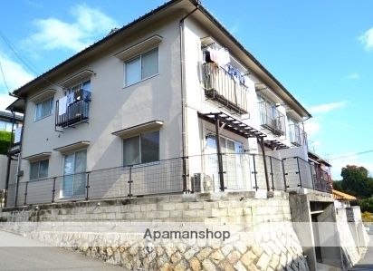 広島県広島市西区、西広島駅徒歩15分の築20年 2階建の賃貸アパート