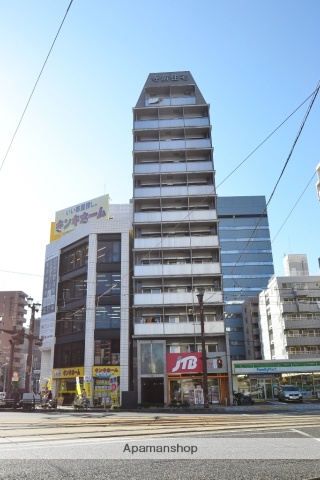 広島県広島市中区、本川町駅徒歩5分の築12年 12階建の賃貸マンション