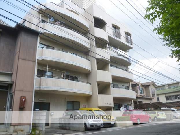 広島県広島市西区、横川駅徒歩4分の築27年 5階建の賃貸マンション