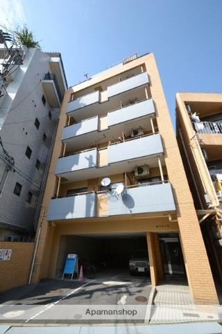 広島県広島市中区、御幸橋駅徒歩8分の築20年 6階建の賃貸マンション