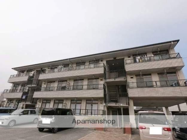 広島県福山市、上戸手駅徒歩19分の築21年 3階建の賃貸マンション