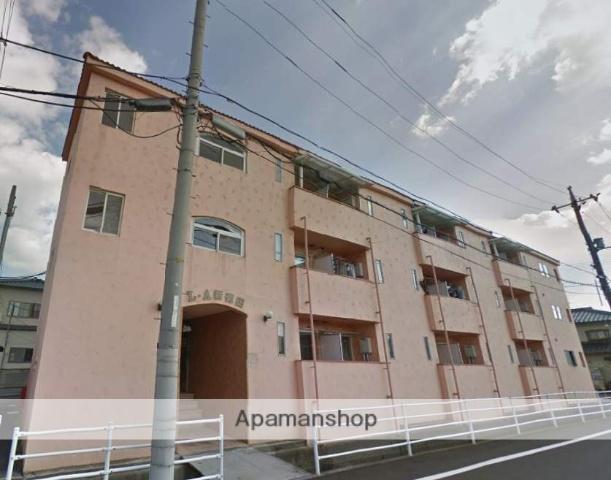 広島県福山市、湯田村駅徒歩10分の築19年 3階建の賃貸アパート