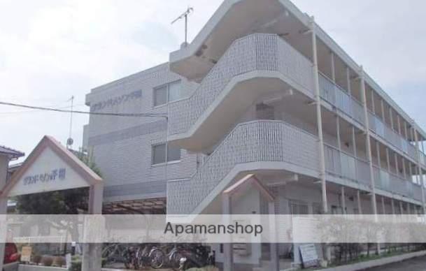 広島県福山市、横尾駅徒歩8分の築21年 3階建の賃貸マンション