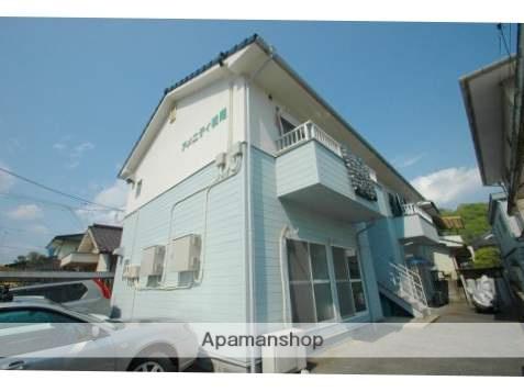 広島県福山市、横尾駅徒歩10分の築25年 2階建の賃貸アパート