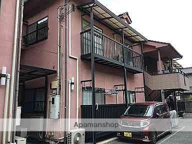 広島県福山市、備後赤坂駅徒歩19分の築19年 2階建の賃貸アパート