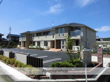 広島県府中市、新市駅徒歩20分の築1年 2階建の賃貸アパート
