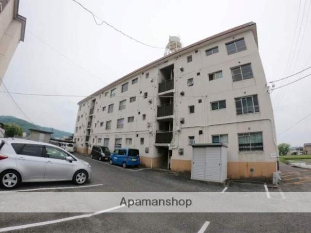広島県福山市、道上駅徒歩25分の築41年 4階建の賃貸マンション