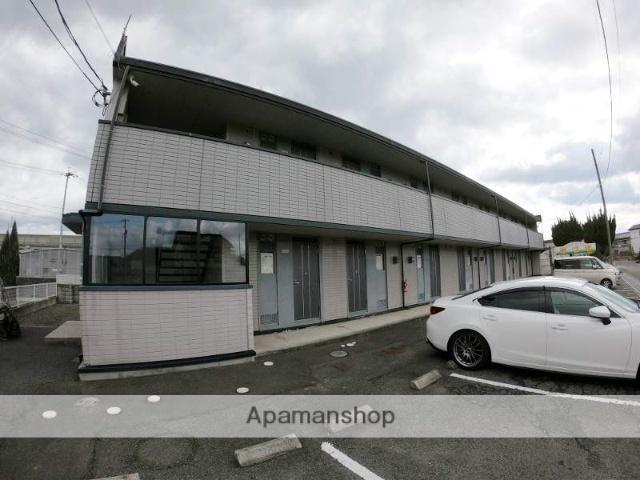 広島県福山市、湯野駅徒歩2分の築20年 2階建の賃貸アパート