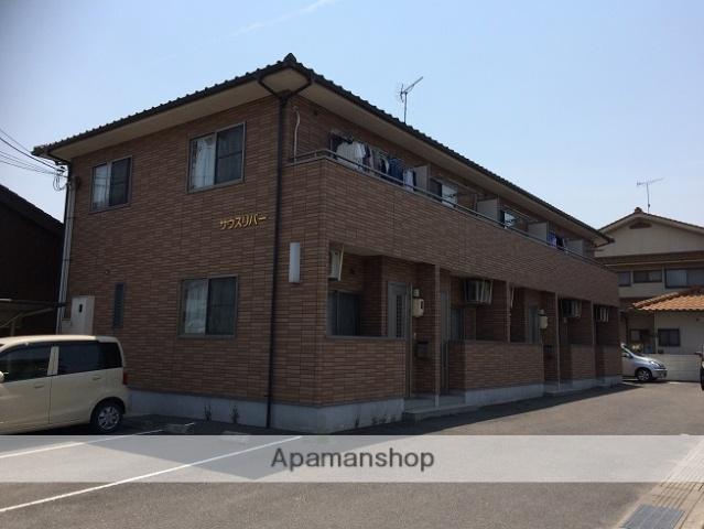 広島県福山市、神辺駅徒歩3分の築10年 2階建の賃貸アパート
