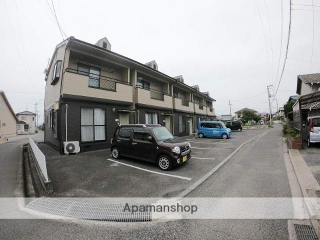広島県福山市、駅家駅徒歩8分の築19年 2階建の賃貸テラスハウス