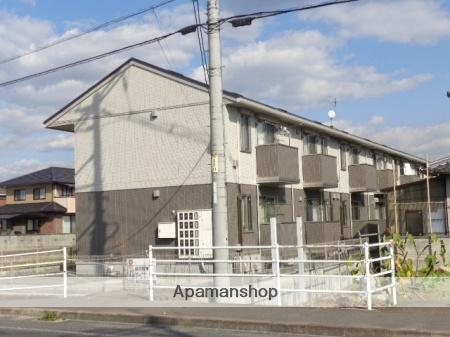 広島県福山市、道上駅徒歩18分の築1年 2階建の賃貸アパート