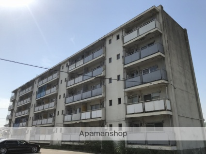 広島県福山市、神辺駅徒歩17分の築47年 5階建の賃貸マンション