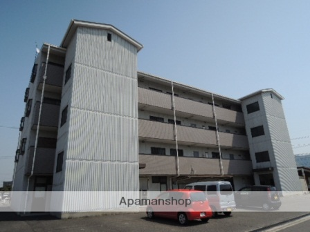 広島県福山市、近田駅徒歩10分の築21年 4階建の賃貸マンション