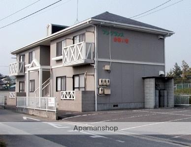 広島県福山市、駅家駅徒歩12分の築22年 2階建の賃貸アパート