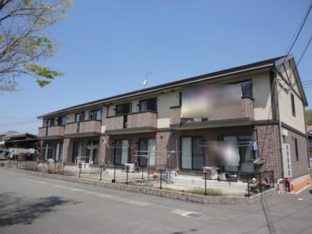 広島県福山市、近田駅徒歩17分の築11年 2階建の賃貸アパート