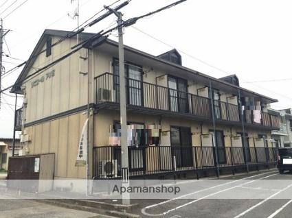 広島県府中市、新市駅徒歩28分の築27年 2階建の賃貸アパート