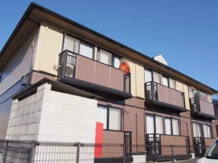 広島県福山市、福山駅徒歩21分の築21年 2階建の賃貸アパート