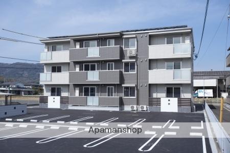 広島県府中市、高木駅徒歩13分の新築 3階建の賃貸アパート