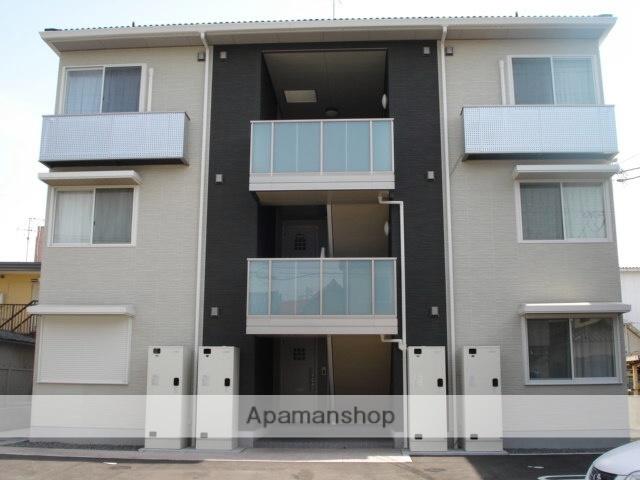 広島県福山市、松永駅徒歩7分の築7年 3階建の賃貸アパート