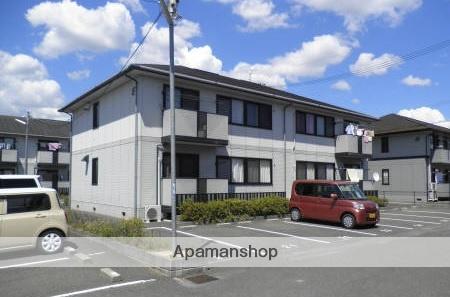 広島県福山市、松永駅徒歩23分の築19年 2階建の賃貸アパート
