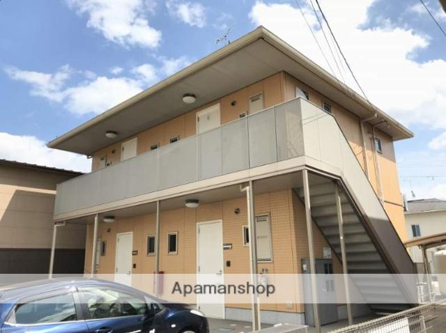 広島県福山市、道上駅徒歩20分の築9年 2階建の賃貸アパート