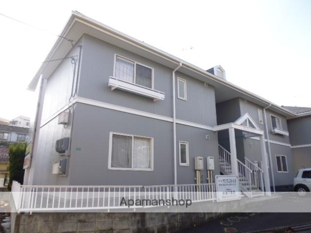 広島県福山市、福山駅徒歩18分の築23年 2階建の賃貸アパート