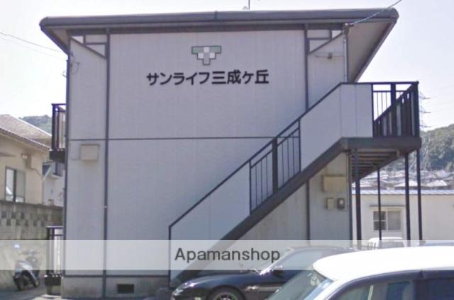 広島県尾道市の築22年 2階建の賃貸アパート