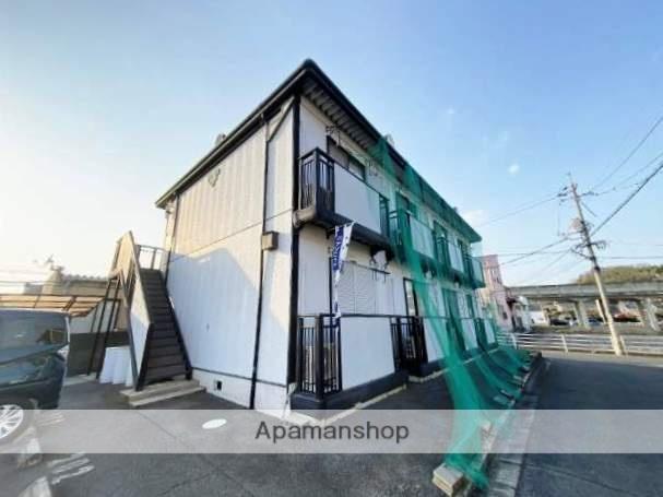 広島県福山市、神辺駅徒歩25分の築21年 2階建の賃貸アパート