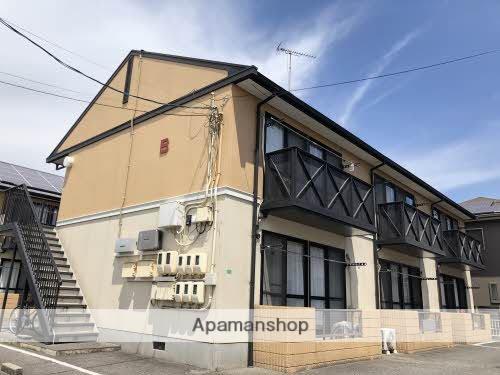 広島県福山市、東福山駅徒歩18分の築25年 2階建の賃貸アパート