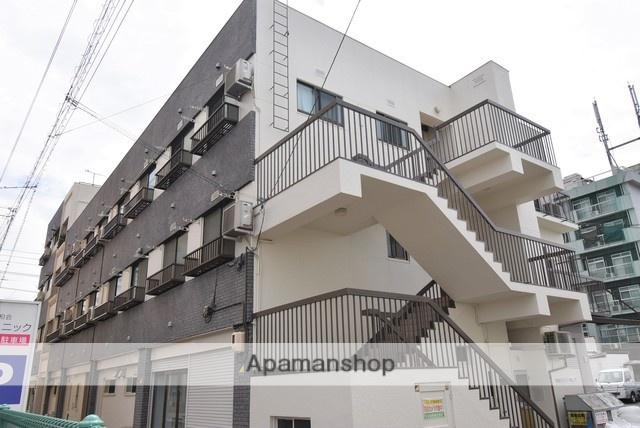 広島県福山市、東福山駅徒歩54分の築48年 4階建の賃貸マンション