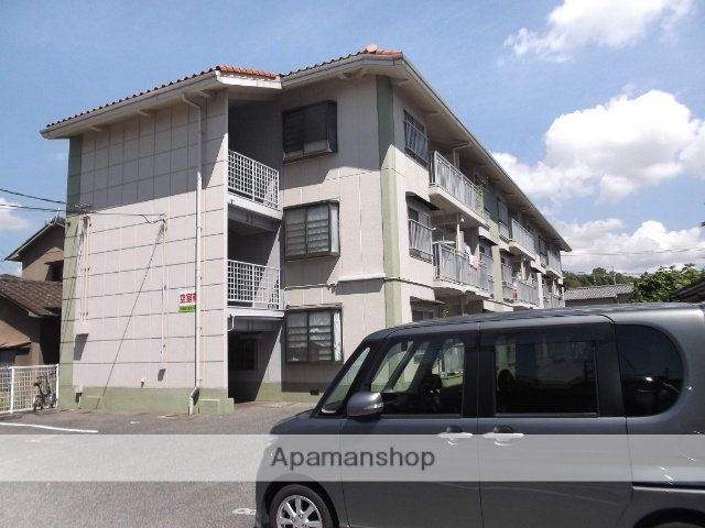 広島県福山市、備後本庄駅徒歩10分の築25年 3階建の賃貸マンション