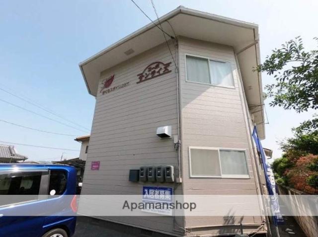 広島県福山市、近田駅徒歩20分の築28年 2階建の賃貸アパート