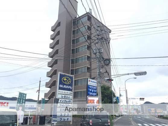 広島県福山市、神辺駅徒歩15分の築17年 9階建の賃貸マンション