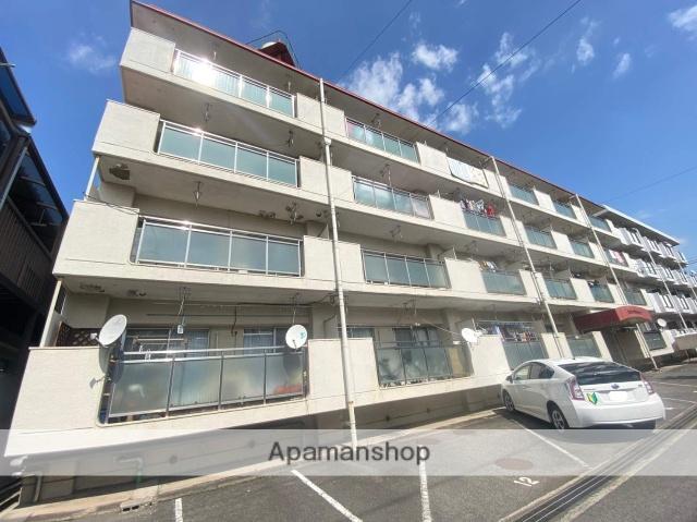 広島県福山市、福山駅徒歩13分の築36年 4階建の賃貸アパート