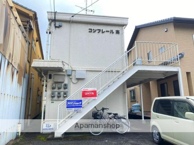 広島県福山市、福山駅徒歩13分の築29年 2階建の賃貸マンション