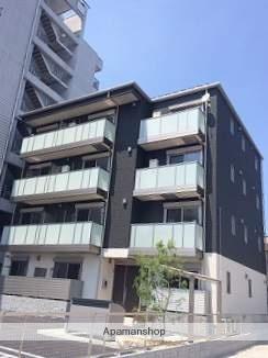 広島県福山市、福山駅徒歩11分の築2年 4階建の賃貸マンション