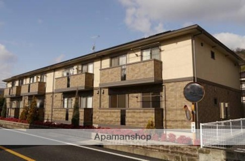 広島県尾道市の築8年 2階建の賃貸アパート