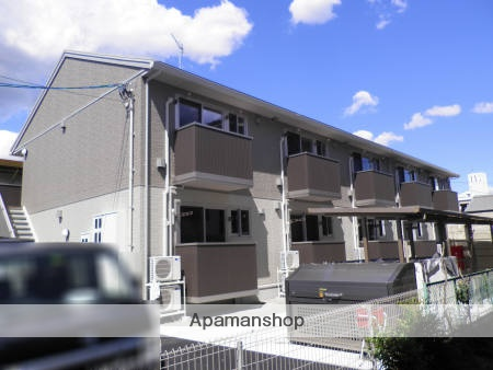 広島県福山市、松永駅徒歩2分の築4年 2階建の賃貸アパート