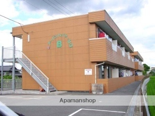 広島県福山市、駅家駅徒歩21分の築18年 2階建の賃貸アパート