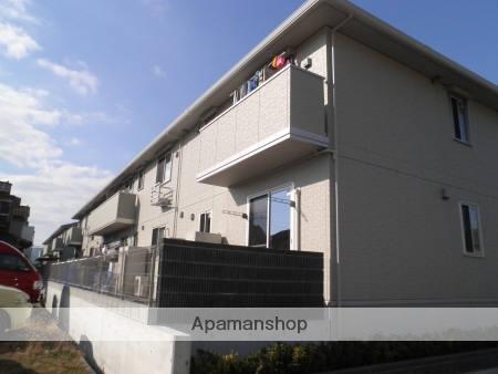 広島県福山市、横尾駅徒歩20分の築4年 2階建の賃貸アパート