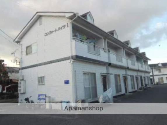 広島県府中市、高木駅徒歩11分の築22年 2階建の賃貸アパート