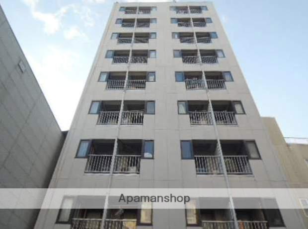 広島県福山市、福山駅徒歩7分の築27年 9階建の賃貸マンション