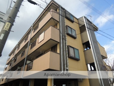 広島県福山市、東福山駅徒歩51分の築20年 4階建の賃貸マンション
