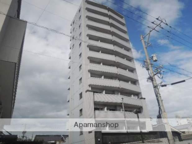 広島県福山市、東福山駅徒歩55分の築25年 12階建の賃貸マンション