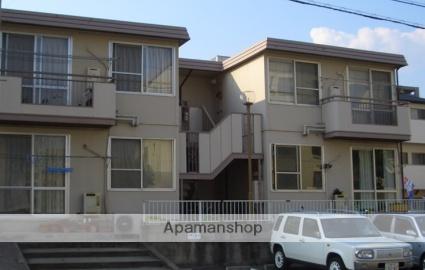 広島県広島市西区、新井口駅徒歩9分の築33年 2階建の賃貸アパート
