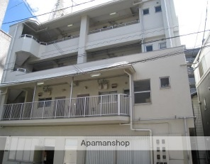 広島県広島市西区、横川駅徒歩9分の築40年 4階建の賃貸マンション