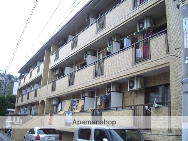 広島県広島市西区、横川駅徒歩15分の築26年 3階建の賃貸マンション
