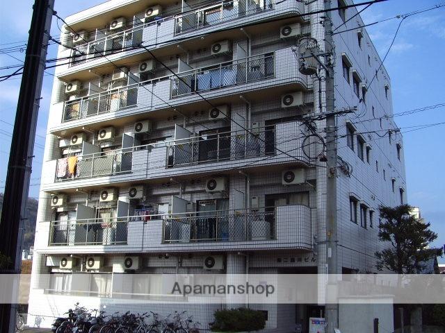 広島県広島市西区、横川駅徒歩5分の築28年 5階建の賃貸マンション