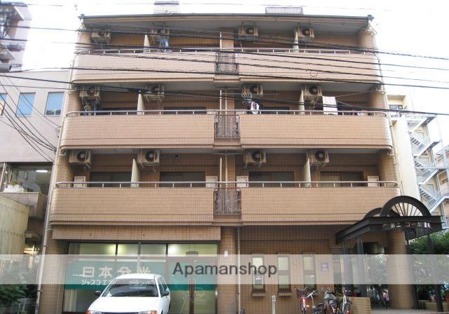 広島県広島市西区、横川駅徒歩9分の築27年 4階建の賃貸マンション